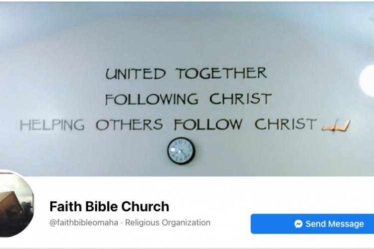 Faith Bible Church Facebook